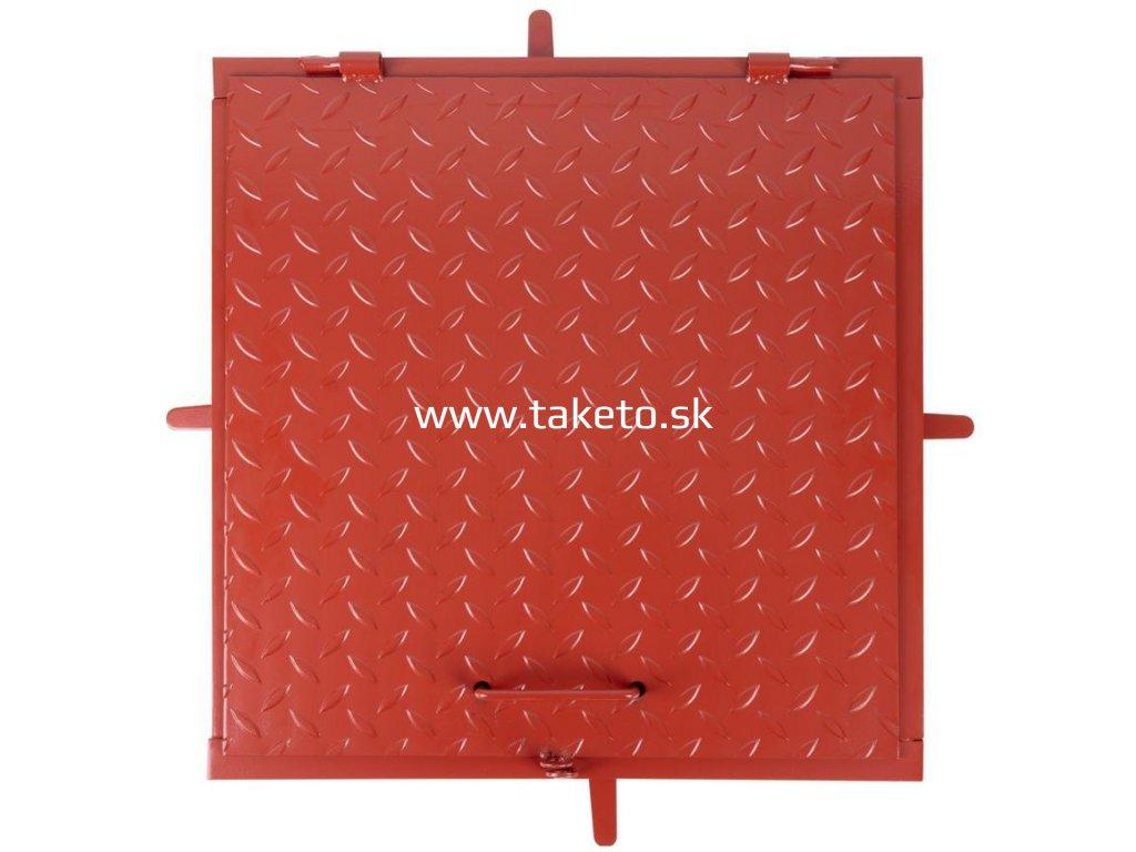 Poklop MC60, 600x600 mm, kanálový, farba, max. 150 kg  + praktický pomocník k objednávke