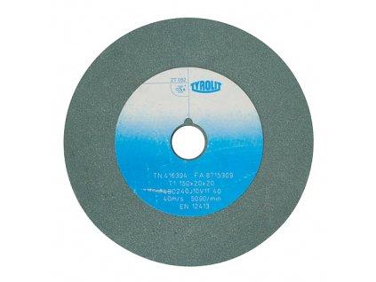 Kotúč Tyrolit 416394, 150x20x20 mm, 49C240J10V40 (zrnitosť 240)  + praktický pomocník k objednávke