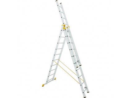 Rebrík ALVE FORTE PROFI PLUS 8615, 3x15, univerzálny, A441 B1120  + praktický pomocník k objednávke