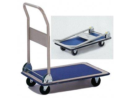 Vozik Handtruck PH158, plošinový, oceľový, max. 150 kg  + praktický Darček k objednávke