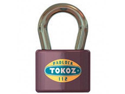 Zámok Tokoz 112/50 SU, visiaci, rovnaký uzáver  + praktický pomocník k objednávke