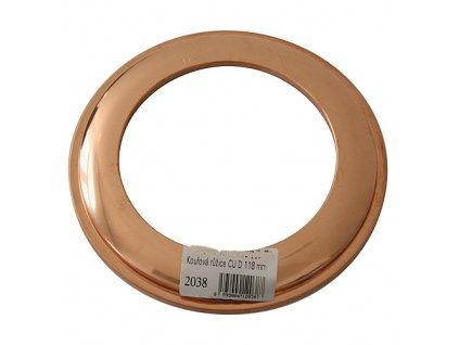 Ruzica Antikoro 2305 118 mm, Cu  + praktický pomocník k objednávke