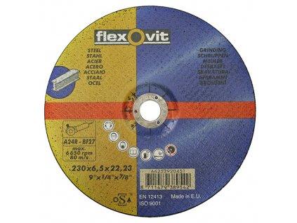 Kotúč flexOvit 20451 230x6,5 A24R-BF42, rezný na kov  + praktický pomocník k objednávke