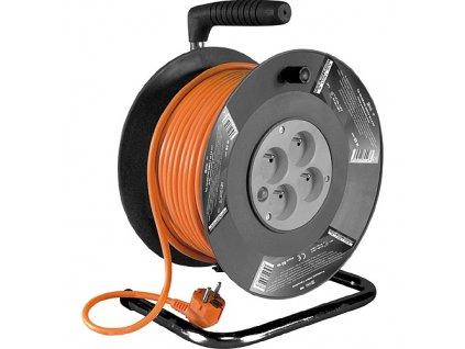 Kábel Strend Pro DG-FB04 50 m, predlžovací na bubne  + praktický pomocník k objednávke