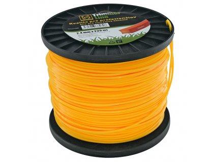 Silon na kosenie ProCom Plus 2,4 mm, hranatý, Spool 223 m  + praktický pomocník k objednávke