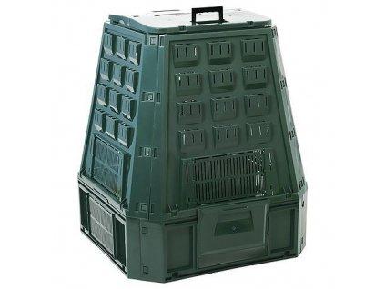 Komposter EVOGREEN, 630 lit, zelený  + praktický pomocník k objednávke
