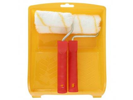 Sada maliarska PRAMOS, Acryl, 2x valček + vanička  + praktický pomocník k objednávke
