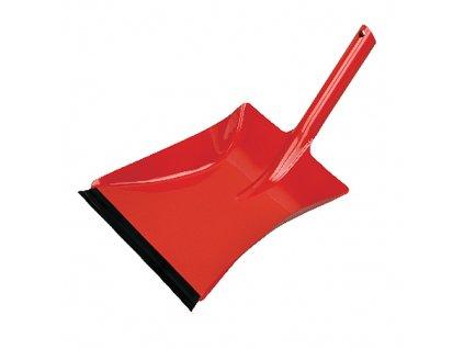 Lopatka Neco 30-0383-15, červená, gumová lišta  + praktický pomocník k objednávke