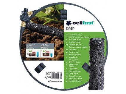 """Hadica Cellfast DRIP 1/2"""", L-07.5 m, priesaková  + praktický pomocník k objednávke"""