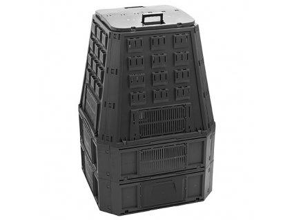 Komposter EVOBLACK, 850 lit, čierny  + praktický pomocník k objednávke