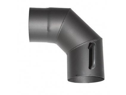 Koleno HS.K 090/160/2,0 mm, s klapkou a cistiacim otvorom  + praktický Darček k objednávke