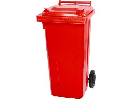 Nadoba MGB 240 lit, plast, červená, popolnica na odpad  + praktický Darček k objednávke