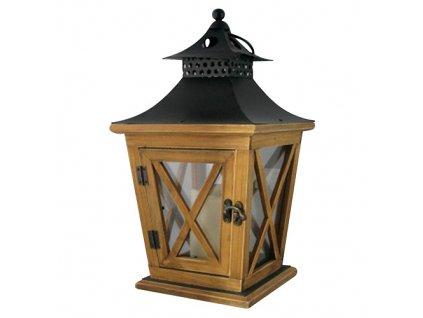 Lampas MagicHome LW8680, 19x19x36 cm, LED, 3xAAA, drevo  + praktický pomocník k objednávke