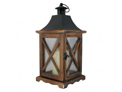 Lampas MagicHome WL8834, 16x16x35 cm, LED, 3xAAA, drevo  + praktický pomocník k objednávke