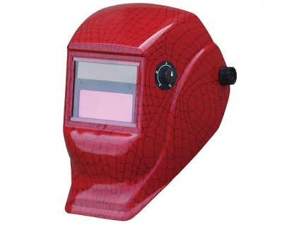 Kukla zváračská Galaxy RedSpider, AutoDark, samostmievacia, 2 senzorová  + praktický pomocník k objednávke