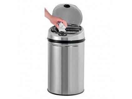 Kos Easyhome AD-001, 30 lit, senzorový, okrúhly, 305x305x565 mm, 4xAA, na odpad  + praktický pomocník k objednávke
