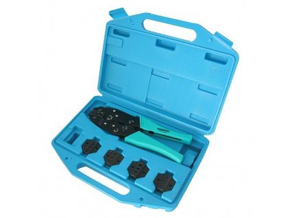 Kliešte Whirlpower® 177-0105, krimpovacie, 0.5-6 mm2  + praktický pomocník k objednávke