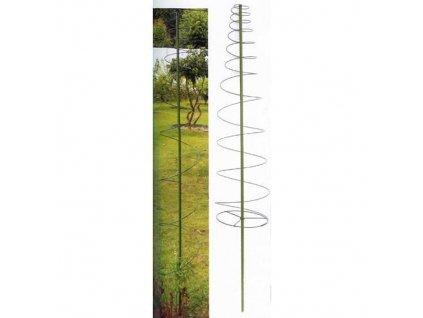 Tyč GreenGarden TOMA, 165x30 cm +3 spony, špirálová, oporná na paradajky a rastliny  + praktický pomocník k objednávke