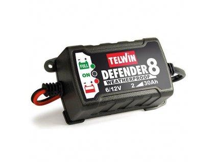 Nabíjačka Telwin Defender 8, 6-12V, na autobatérie  + praktický pomocník k objednávke