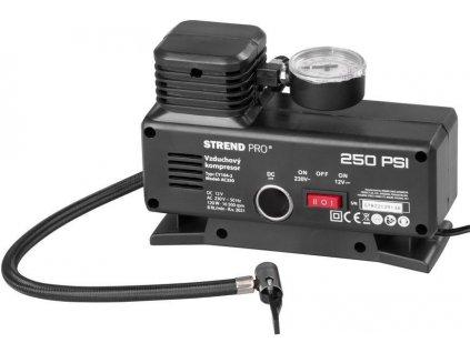 Kompresor Aircom AC250, 250 psi, 230V/12V  + praktický Darček k objednávke