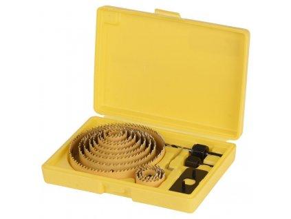 Sada vyrezávačov do kovu STREND PRO CHS 6016, Bi-metal, vykružováky, 16 ks, 019-127 mm  + praktický Darček k objednávke