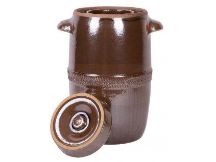 Súdok Ceramic 05 lit, na kapustu, I.trieda, s vrchnákom, 24x18 cm  + praktický pomocník k objednávke