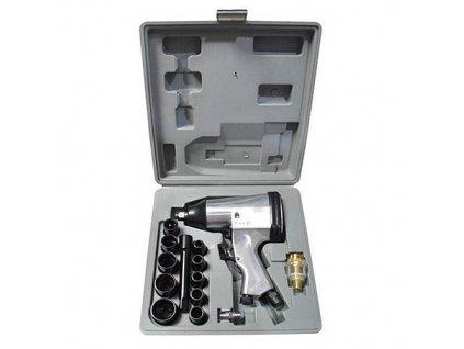 Sada uťahovacia pištoľ na kompresor Airtool WF-002A, 17 dielna, v kufri  + praktický pomocník k objednávke