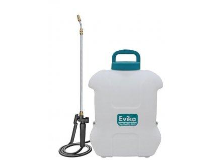 Postrekovač Evika DJ160, 16 lit, 12V, Lithium battery, akumulátorový, na chrbát  + praktický pomocník k objednávke