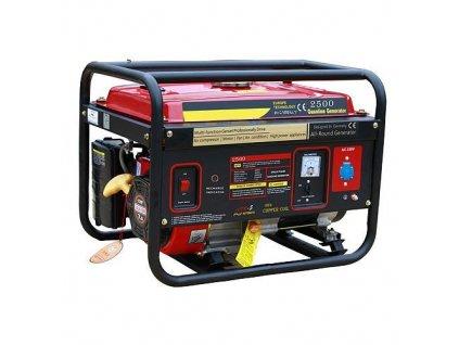 Elektrocentrála Worcraft GG-2700, WT170F, 15 lit., benzínová  + praktický pomocník k objednávke