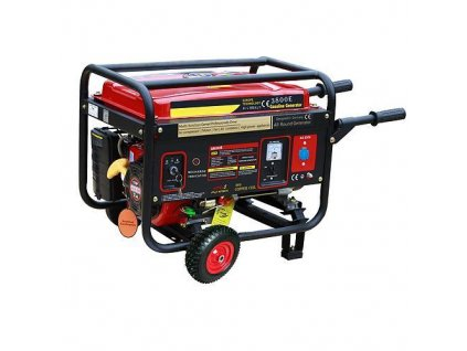 Elektrocentrála Worcraft GG-3800, WT170F, 15 lit., benzínová  + praktický pomocník k objednávke