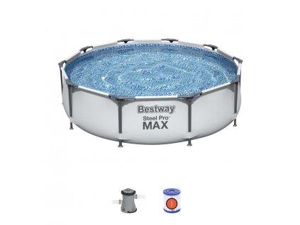 Bestway Steel Pro Frame 305 x 76 cm 56408  + praktický pomocník k objednávke