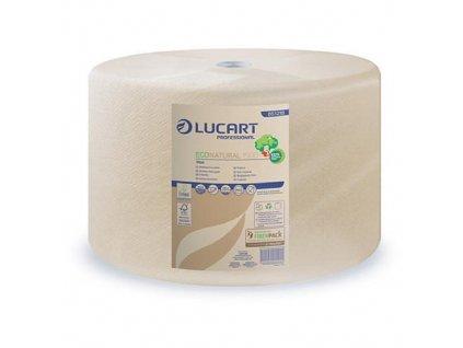 Utierky LUCART ECONATURAL 1500, 2-vrstvy, L-510 m, 1500 útržkov  + praktický pomocník k objednávke