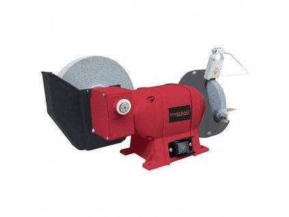 Brúska Worcraft WPBG112, 250W, suché/mokré brúsenie, dw150x20x12.7, ww200x40x20 mm, stolová  + praktický pomocník k objednávke