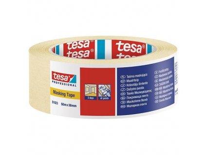 Páska tesa® PRO, maliarska, maskovacia, 38 mm, L-50 m  + praktický pomocník k objednávke