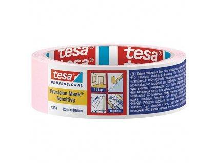 Páska tesa® PRO Precision Mask Sensitive, maliarska, ružová, 30 mm, L-25 m  + praktický pomocník k objednávke