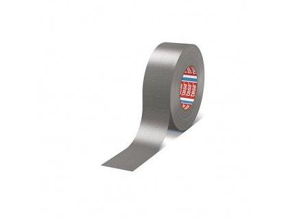 Páska tesa® PRO Gaffer, textilná, strieborná, PE, 50 mm, L-25 m  + praktický pomocník k objednávke