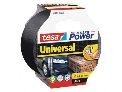 Páska tesa® Extra Power Universal, textilná, strieborná, 50 mm, L-10 m  + praktický pomocník k objednávke
