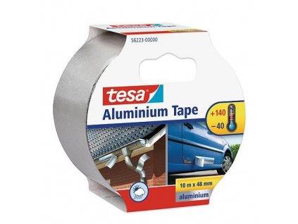 Páska tesa® Aluminium, hliníková, premium, 50 mm, L-10 m  + praktický pomocník k objednávke