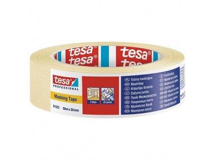 Páska tesa® PRO, maliarska, maskovacia, 30 mm, L-50 m  + praktický pomocník k objednávke