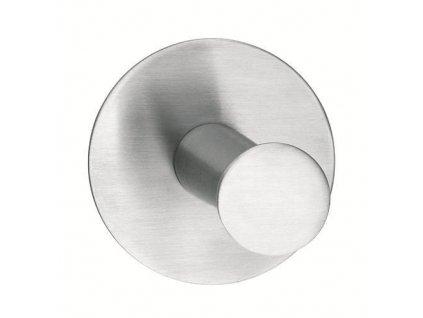 Hacik tesa® Powerbutton, okrúhly, Stainless steel, max. 6 kg  + praktický Darček k objednávke