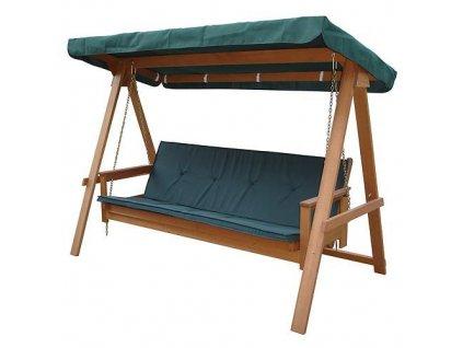 Hojdacka LEQ FREDERICIA, 235x117x178 cm, drevená  + praktický Darček k objednávke