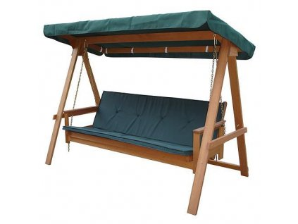 Hojdacka LEQ FREDERICIA, 235x117x178 cm, drevená  + praktický pomocník k objednávke