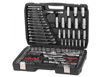 """Sada náradia Strend Pro S221, 215 dielna, v kufri, 1/2""""+1/4""""+3/8""""  + praktický pomocník k objednávke"""