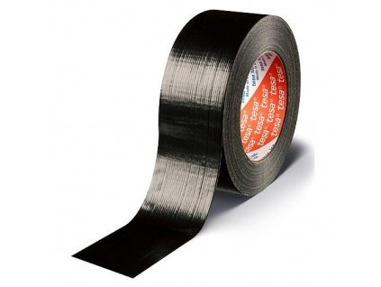Páska tesa® PRO Duct tape, 48 mm, L-50 m, textilná, čierna  + praktický pomocník k objednávke