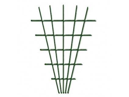 Mriezka Garden MEV5 145x5x75 cm, 4/4,7 mm, na kvety, zelená, záhradnícka  + praktický pomocník k objednávke