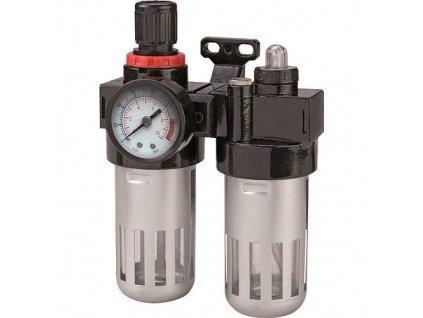 Filter Airtool MF-3, na kompresor, s regulátorom a tlakomerom  + praktický pomocník k objednávke