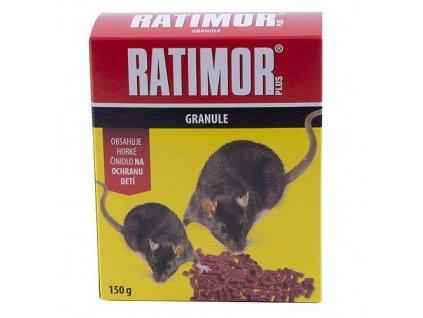 Navnada RATIMOR® Bromadiolon pellets, 150 g, granule  + praktický pomocník k objednávke