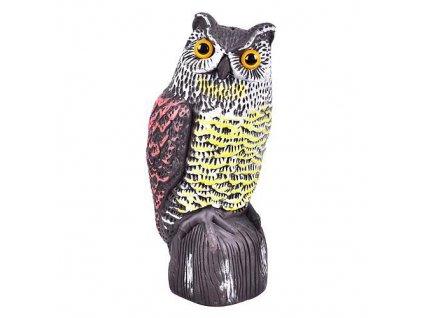 Plašič vtákov, Sova, 36 cm  + praktický pomocník k objednávke