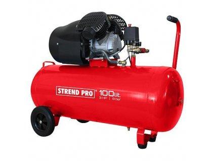 Kompresor Strend Pro HSV-100-08, 2,2 kW, 100 lit, 2 piestový  + praktický pomocník k objednávke