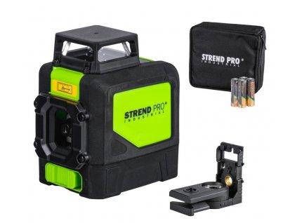 Laser Strend Pro Industrial 901CG, krížový + 360°, zelený  + praktický pomocník k objednávke